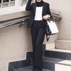 Formal and classic hijab outfits – Just Trendy Girls