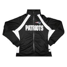 Official New England Patriots ProShop - Ladies VF Counter II Jacket-Black