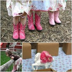 The TomKat Studio: {Sweet Customers} Lucia's Sweet Vintage Cowgirl Birthday Party!