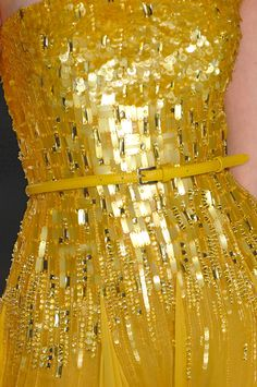 Elie Saab S/S 2012. Reminds me of those butterscotch wrappers, tu comprends?
