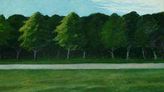 Road and Trees, 1962. Edward Hopper, America, 1882-1967.