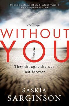 Without You by Saskia Sarginson [9780749958718] #mystery #thriller #book