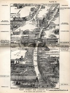 In 1880 Herbert Fry published London a handbook for Victorian visitors. The popular book ran to many editions. A major factor for its success being the inclusion of twenty illustrations providing: &ld London Map, Old London, London Blog, London History, British History, Tourist Map, Victorian London, Fleet Street, Cities