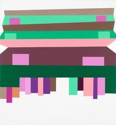 Olav Christopher Jenssen Panorama/The Second Generation, No.01 Marguerita, 2011/12 Acrylic on canvas 265 x 245 cm