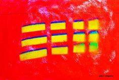 "Saatchi Art Artist Paul Megens; Painting, ""electro-magnetic"" #art"