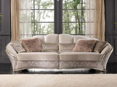 Archiproducts Dahlia Sofa Dahlia Collection By Gold Confort Fancy Living Rooms, Living Room Sofa Design, Living Room Decor Cozy, Home Room Design, Living Room Designs, Furniture Styles, Sofa Furniture, Luxury Furniture, Furniture Design