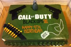 Call of Duty cake by Dessert Menu
