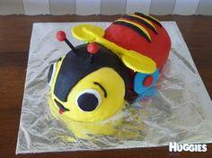 Buzzy bee 3rd Birthday, Birthday Cakes, Birthday Ideas, Birthday Parties, Buzzy Bee, Bee Cakes, Bee Party, Cake Gallery, How To Make Cake