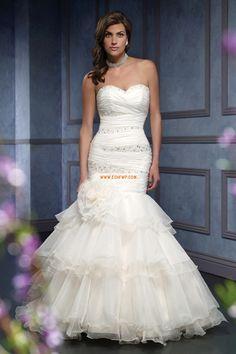 Srdíčko Jaro Empírové Luxusní svatební šaty