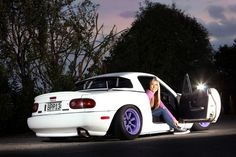 A GAL AND HER MX-5. Inspiring story from a true female car enthusiast. <3