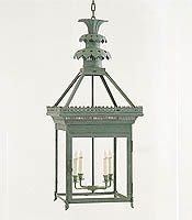 "Hanging Ceiling Lanterns; ""Pineapple"" by Charles Edwards"