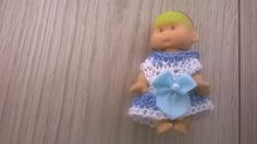 "Hand crochet dolls clothes fits 2.5"" or similar size."