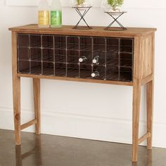 Wine Rack Table, Wine Rack Storage, Diy Wine Racks, Sideboard Buffet, Buffet Tables, Console Table, Wine Cabinets, Shaker Style, Decoration