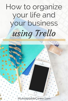 Trello isn't just for teams! Click through to read how you can use this FREE tool to organize your personal life and your blog or business.