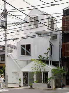 Tokyo Apartment | Tokyo, Japan | Sou Fujimoto Architects