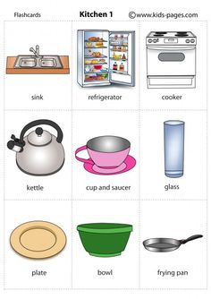 Kids Pages - Kitchen 1