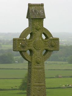St. Patrick, the beloved patron saint of Ireland, was ordained as a priest in Britain and sent to Ireland to minister to Christians and to convert the Irish, then pre-dominantly pagans, to Christianity.  Because Patrick was familiar with the Irish language and culture from the years he'd spent in captivity there (when he was captured at age 16), he chose to incorporate Irish ritual and symbols into his teachings rather than to eradicate Irish beliefs. Thus, was born the Celtic cross.  Patrick...