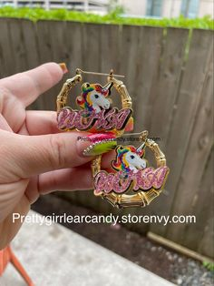 Small 1.8 #earrings Kids Earrings, Bling Bling, Custom Jewelry, Pairs, Pretty, Photos, Gold, Accessories, Pictures