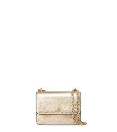 Tory Burch Crinkle Metallic Mini Shoulder Bag