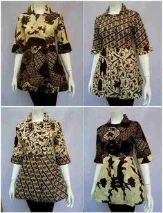 Blus Batik Wanita  Size M L XL Bahan Katun Halus  Harga 90rb #batikbagoessolo #batikbagoes #seragambatikkantor #blouse #fashion #wanita