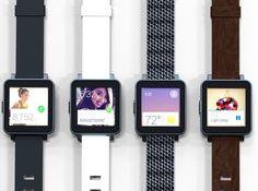 Interesante: Com1, un smartwatch Android Wear por menos de 100€