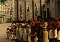 The Opet, was one of the most important annual festivals in ancient Egypt - Opet Festival at Karnak.