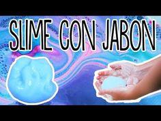 Slime de jabon - como hacer slime sin borax - Tutoriales Belen - YouTube