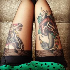 thigh work