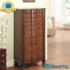 jewelry armoire armoires and costco on pinterest. Black Bedroom Furniture Sets. Home Design Ideas