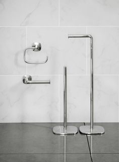 Burford Toilet Roll Holder Swing by Robert Welch for Robert Welch