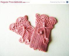 Fingerless gloves. Crochet lace fingerless gloves. by NMNHANDMADE, $23.20