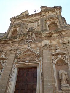 Chiesa di San Giovanni Battista, Oria, Puglia Italia (Luglio)