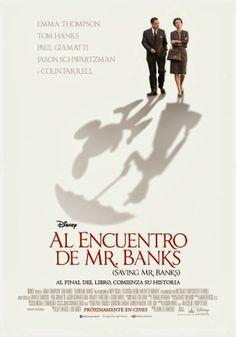 Cartel de 'Al encuentro de Mr. Banks'