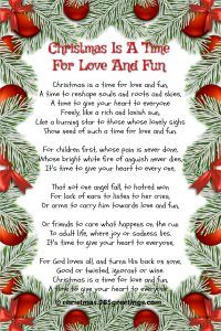 inspirational christmas poems merry