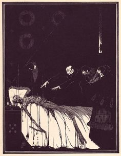 6   The Beautiful Illustrations That Made Poe's Stories Terrifying In 1919   Co.Design: business + innovation + design