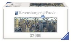 3.Ebensfalls 32.000 Teilen groß das New York City Window von Ravensburger