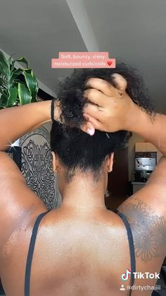 If you run out, use this quick diy recipe! Natural Hair Care Tips, Curly Hair Tips, 4c Hair, Curly Hair Styles, Natural Hair Styles, Thin Hair, Short Hair, Long Hair, Deep Conditioner For Natural Hair