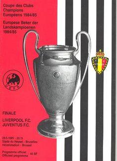 1985 European Cup Final Liverpool v Juventus official programme Football Ticket, Football Memorabilia, Retro Football, Chelsea Football, Football Program, Football Posters, Liverpool Fc, Liverpool Football Club, Juventus Fc
