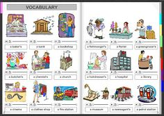 Miss Angie's Place: VOCABULARY: City and places