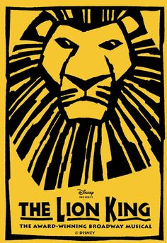Must see The Lion King on broadway!