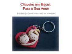 chaveiro-em-biscuit-para-um-clima-de-namorados by Vila do Artesão via Slideshare