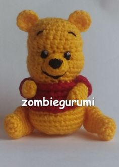 22 Awesome Crochet Amigurumi Winnie the Pooh Winnie The Pooh Friends, Disney Winnie The Pooh, Crochet Amigurumi Free Patterns, Crochet Dolls, Baby Blanket Crochet, Crochet Baby, Free Crochet, Winnie Poo, Crochet Turtle