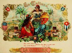 Cuba As Depicted in 19th Century Cigar Box Art