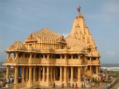 History of Somnath Temple | Shree Somnath is the holy place of Aadi Jyotirling Shree Somnath Mahadev and the sacred soil from where Bhagvan Shri Krishna took his last journey to his neejdham. Somnath temple stands at the shore of the Arabian ocean on the western corner of Indian subcontinent in Gujarat State. This pilgrimage is one of the oldest and finds its reference in the ancient texts like Skandpuran, Shreemad Bhagavat, Shivpuran etc.