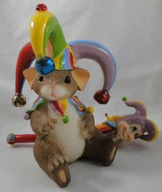 Charming Tails Figurine No Foolin in Collectibles | eBay