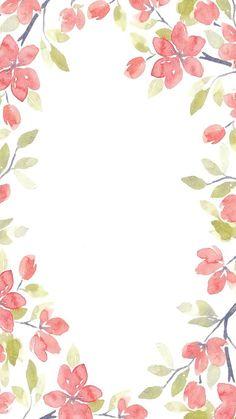 Phone Screen Wallpaper, Wallpaper Iphone Cute, Flower Wallpaper, Galaxy Wallpaper, Cute Wallpapers, Flower Backgrounds, Wallpaper Backgrounds, Flower Frame, Flower Art