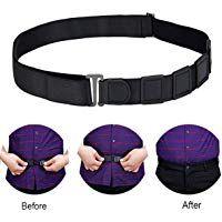1PC Shirt-Stay Belt Adjustable Elastic Shirt Holder Belt Men Lady Formal