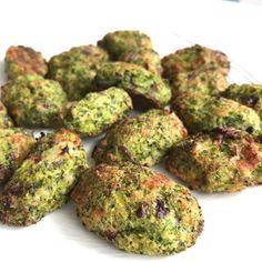 Croquetas de brócoli y queso al horno - La dieta ALEA - cena