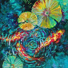 Les Peintures à l'Huile au doigt par Iris Scott (2)