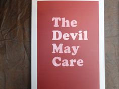 A.McElroy, The devil may care. Foto: Andrea Gamst, from Offprint Paris